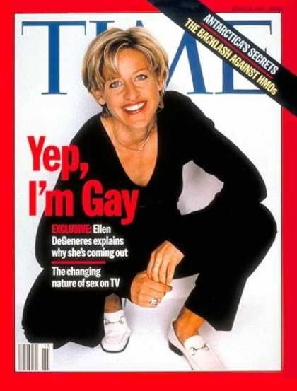 Ellen on Time Magazine