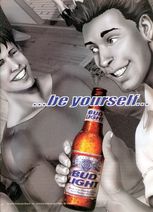 Bud Be Yourself 3 Joe Phillips 2003