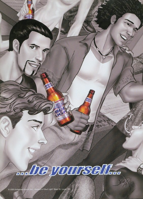 Bud Be Yourself 6 Joe Phillips 2003