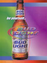 Bud Be Yourself bottle 2003