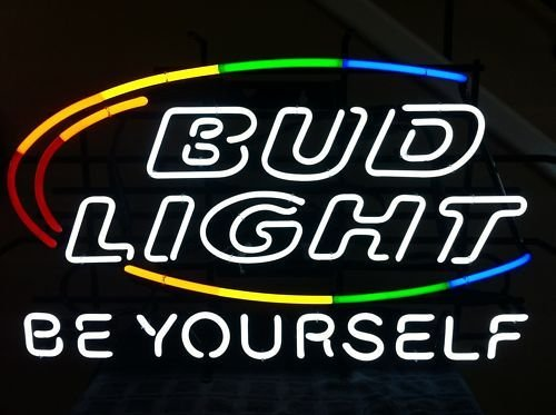 Bud Be Yourself neon